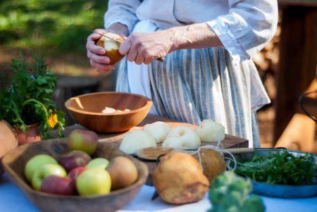 A Farm Wife's Fresh Pear Tart